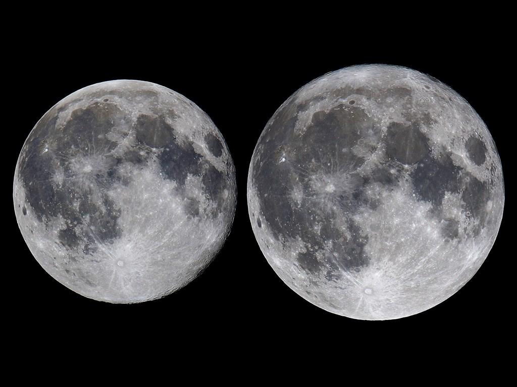超級月亮今晚登場 5月還有月食奇景