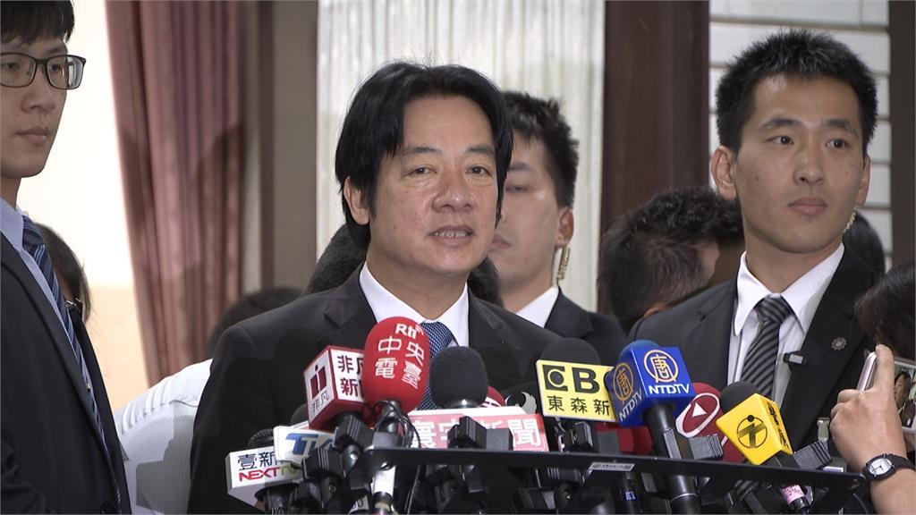 蔡國慶談兩國害台股暴跌?賴清德:錯誤言論