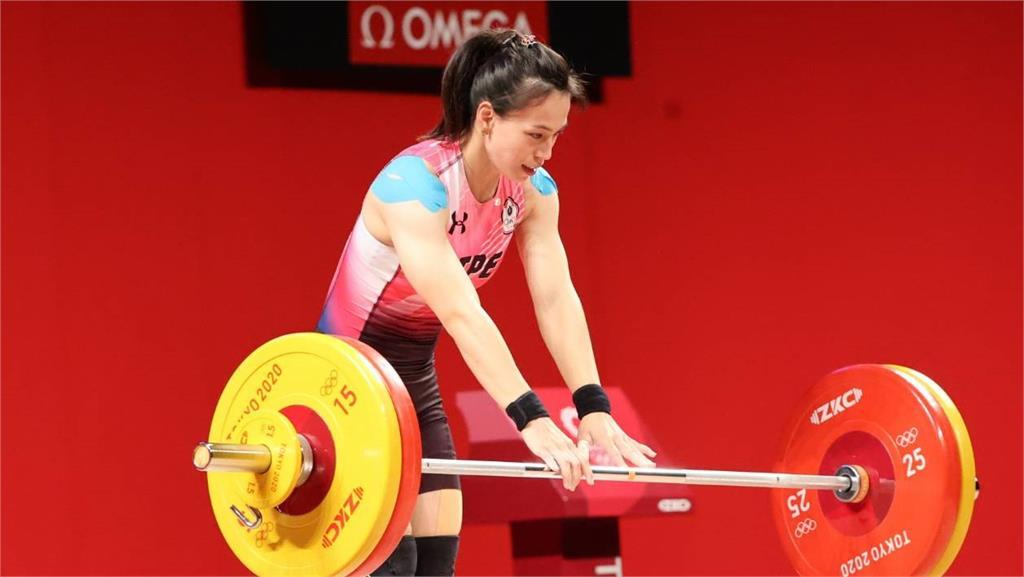 東奧/舉起台灣金牌希望!郭婞淳抓舉103公斤 順利刷新奧運紀錄