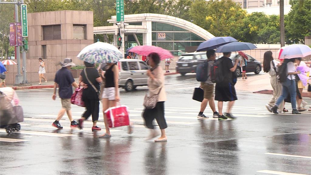 快新聞/薔琵北轉路過!降雨轉短暫、局部 對流發展防大雨
