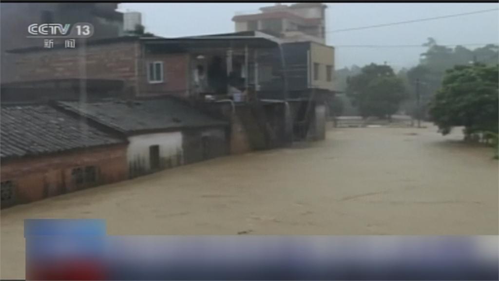 中國南方持續強降雨 9死上百萬人受災