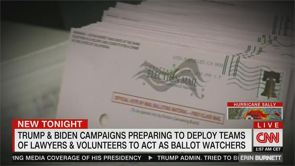 美總統大選通訊投票問題多 雙邊陣營徵志工監票