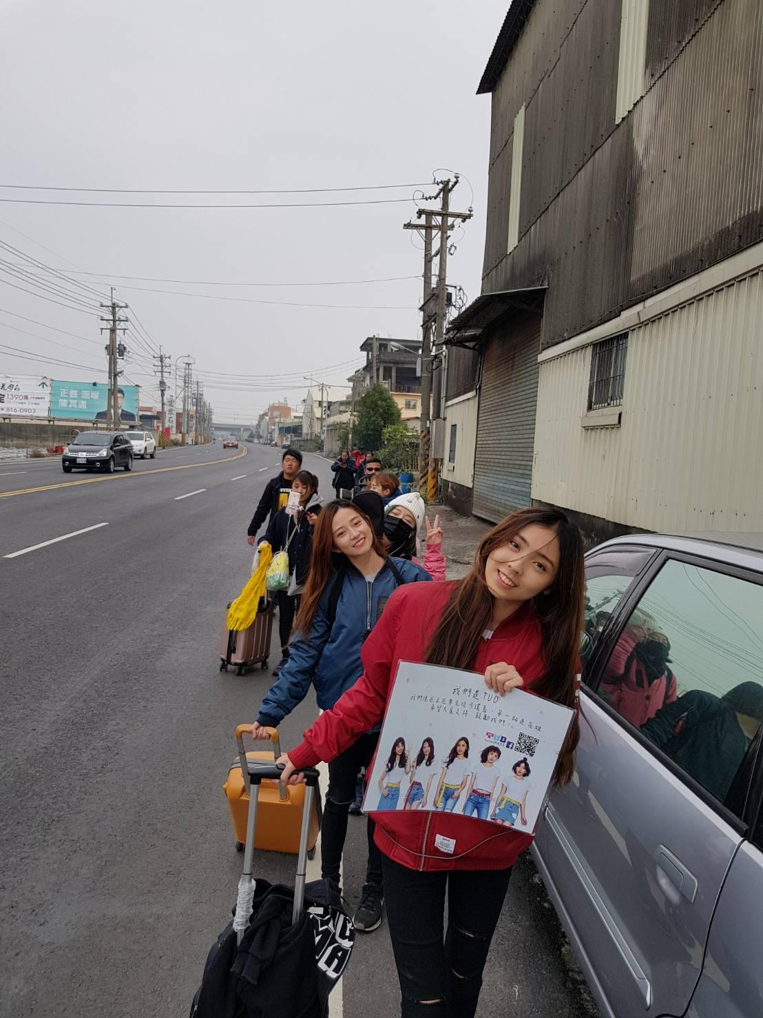 女團TUD「公轉自轉」0元徒步環島 真實感受台灣最美風景!