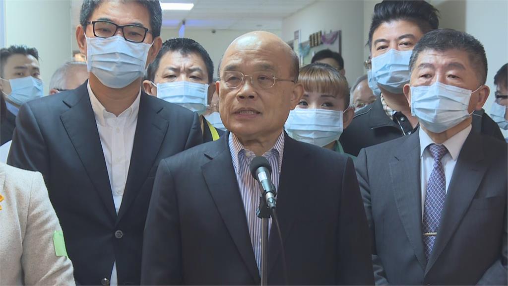 快新聞/連勝文批否認中製疫苗效力 蘇貞昌:中國很多訊息沒有公開透明