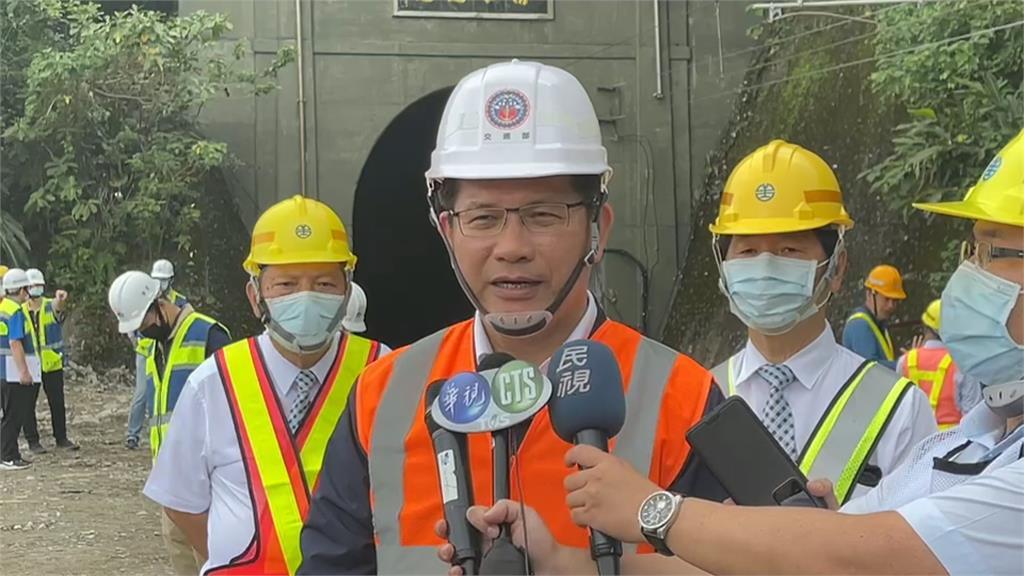 清水隧道預計最快4/19通車 林佳龍將搭首班車