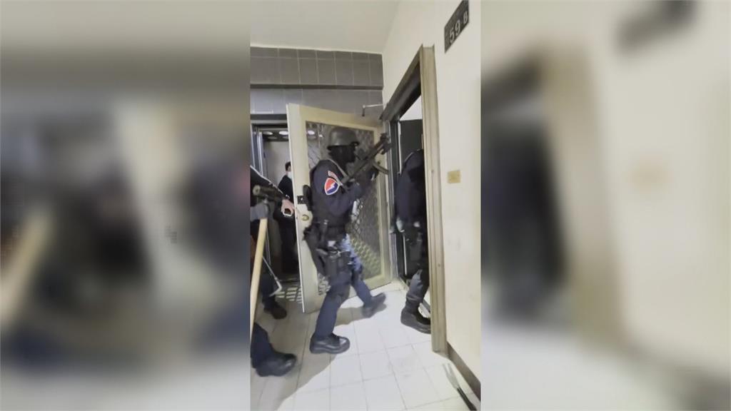 南投警跨區台中抓槍毒女 警曉以大義 主嫌女友開門助逮人