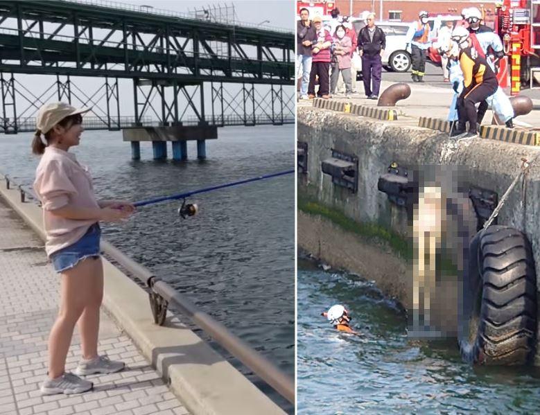 釣魚驚見全裸女浮屍…竟是等身大「情趣娃娃」警方:無法鎖定丟棄的人