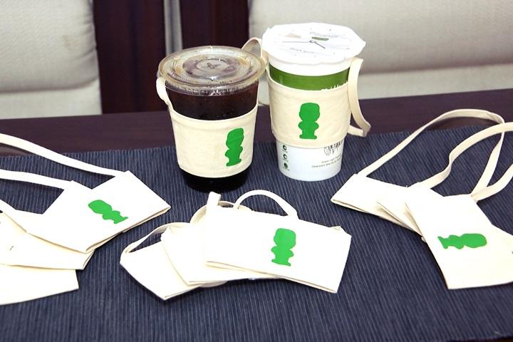 減塑政策上路!大同大學「環保飲料袋」免費送