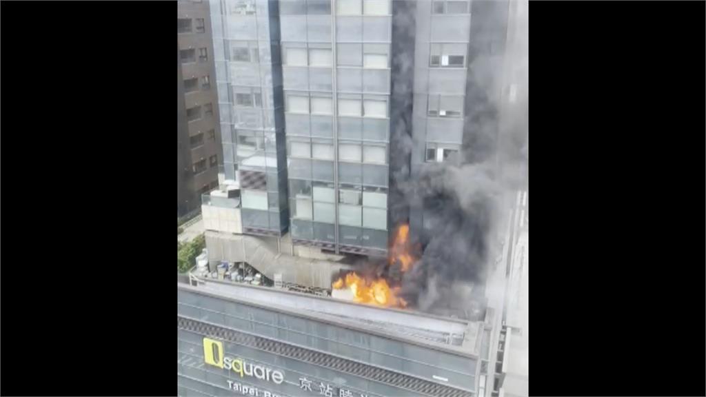台北君品酒店大火! 疏散3百人險燒職棒球員