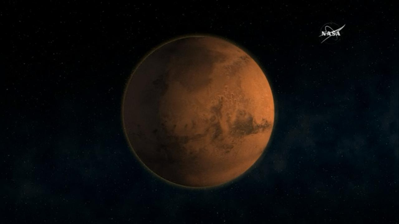 火星有生物?NASA探測器發現有機物質
