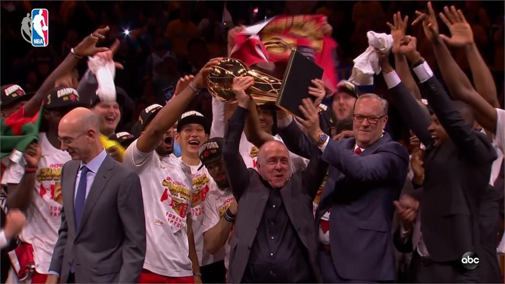 NBA/暴龍終結勇士霸業 雷納德獲頒冠軍賽MVP