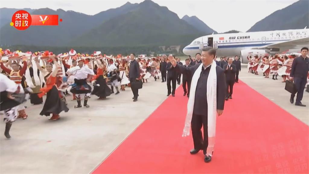 沒事兒? 河南千年級水患肆虐 習近平到西藏維穩