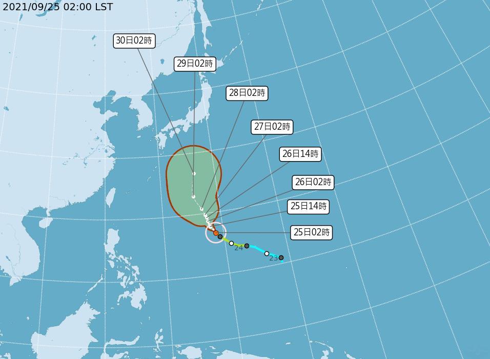 快新聞/東北風發威大雷雨襲北、東 輕颱「蒲公英」對台灣無直接影響