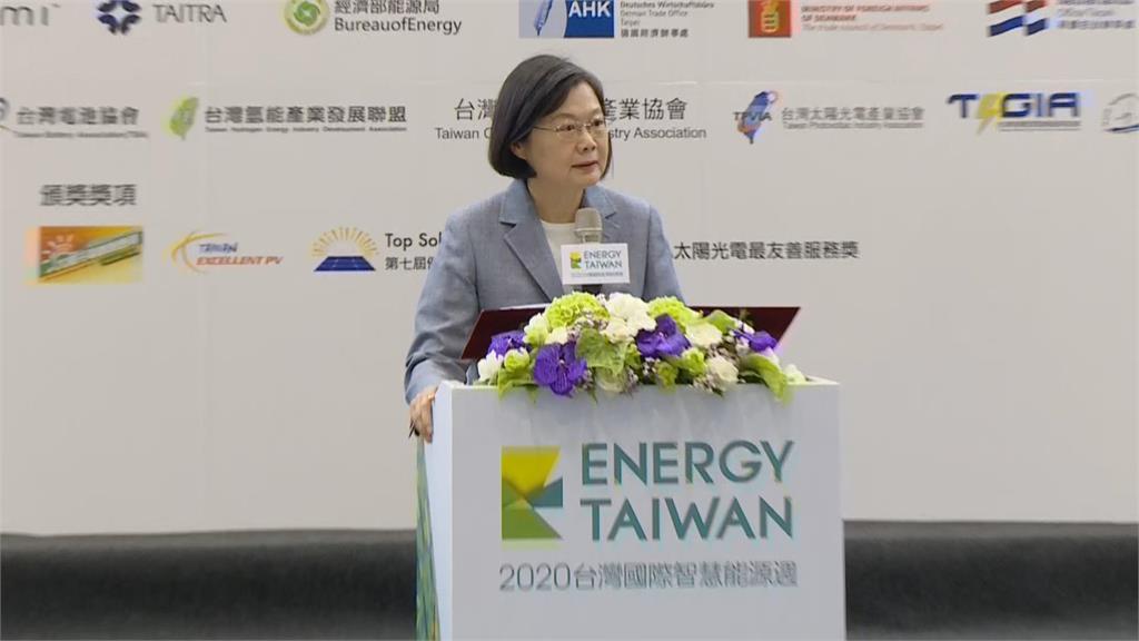 快新聞/蔡英文被王美花爆料!「哪位總統像我這樣重視再生能源」