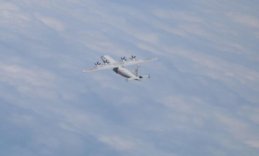 快新聞/中國軍機又來! 兩架「運-8」闖我西南空域 空軍防空飛彈追監