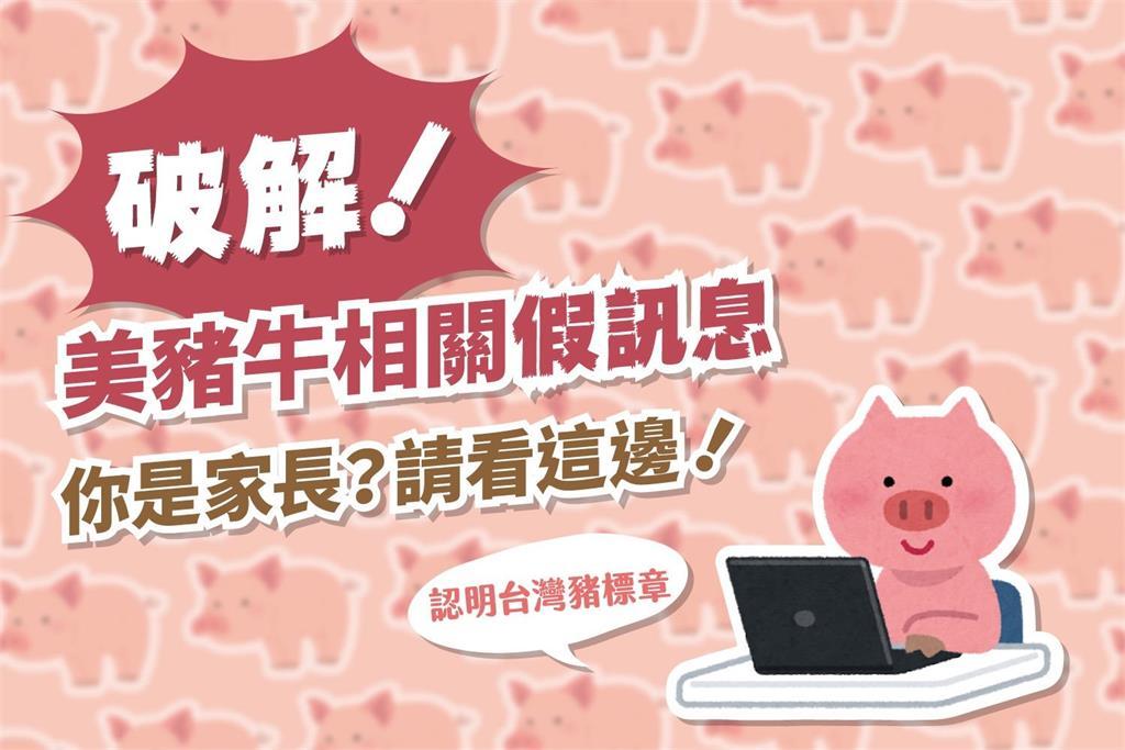 快新聞/批藍操控公投亂象 民進黨po圖說破除美豬謠言