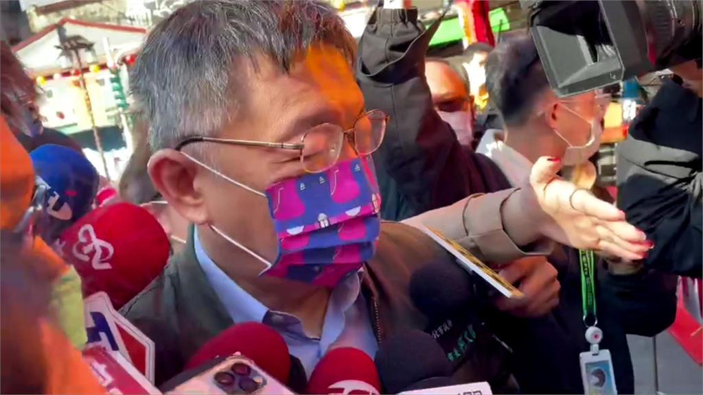 快新聞/找魏佑任當副發言人「戰力堪比王浩宇」? 柯文哲大笑:王浩宇已經被罷免了