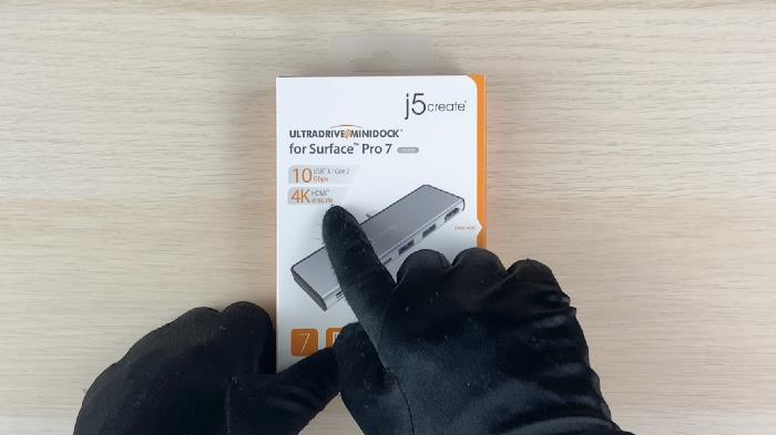 SurfacePro7專用hub推薦j5create JCD324 具10Gbps /4K60HDR