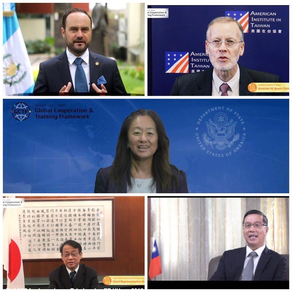 快新聞/肯定台灣模式! GCTF國際研討會登場 美方讚台對「民主進程的貢獻」