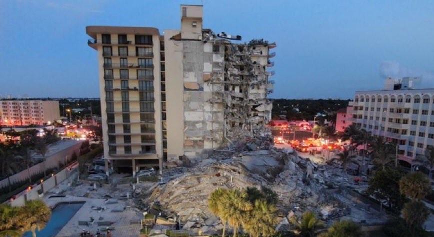 倒塌瞬間影片曝光!邁阿密12層大廈突崩 24秒瞬成廢墟