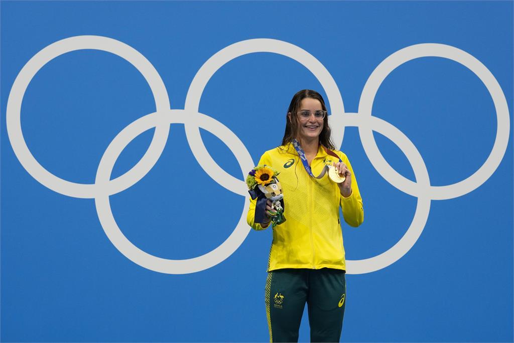 澳洲泳將馬凱恩女子200仰式奪金 成東奧雙料冠軍