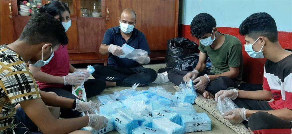 快新聞/外交部捐贈10萬片口罩 協助伊拉克辛賈爾地區難民及醫護人員抗疫