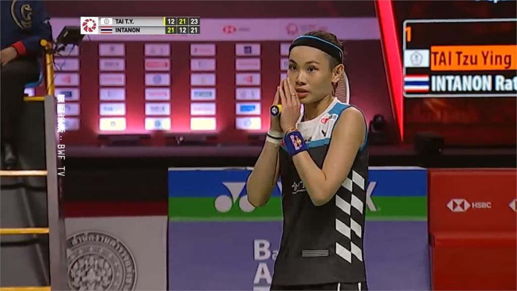 戴資穎拍落泰國宿敵依瑟儂 晉東奧女單4強