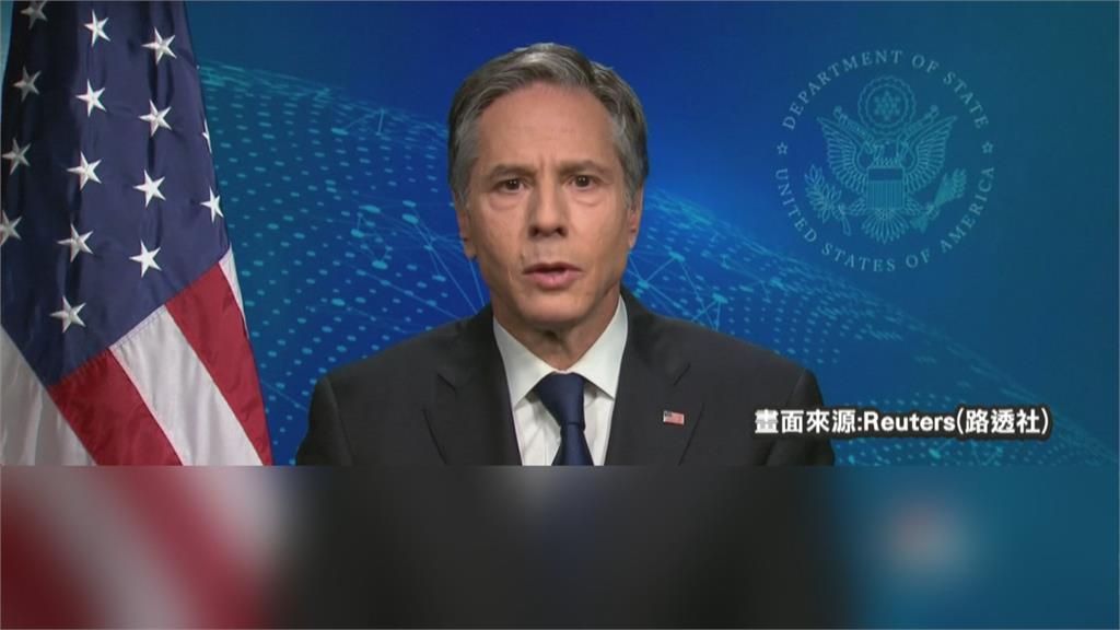 關切中國對台進逼!美國務卿布林肯警告:改變現狀將犯嚴重錯誤