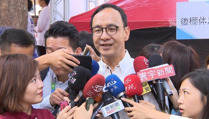 快新聞/朱立倫再喊「親美是國民黨路線」 駁斥刻意與江啟臣做區隔