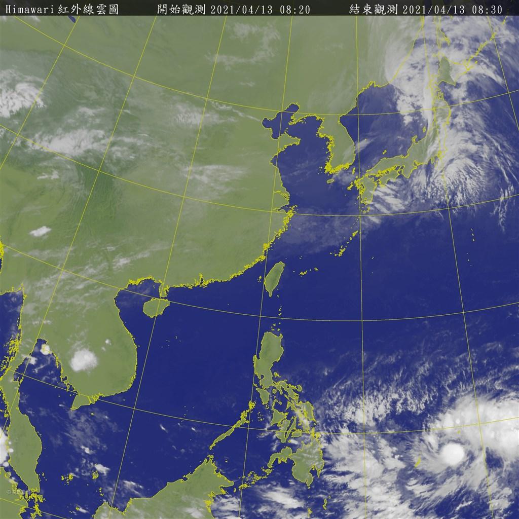 吳德榮:關島西南方熱帶雲簇 2天內達被命名強度