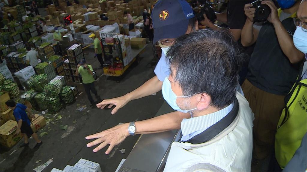 北農爆群聚已45人確診 陳時中.陳吉仲清晨視察