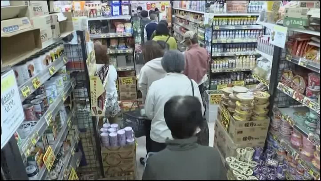 武漢肺炎/東京官方稱疫情將爆發 民眾怕封城上街搶物資