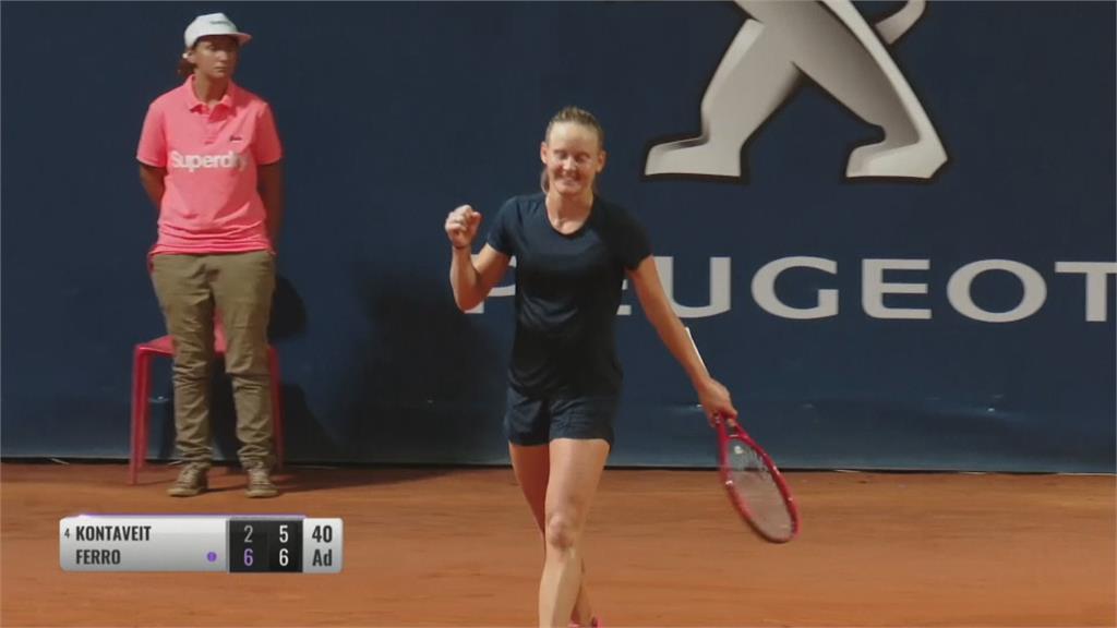 職業女網復賽首冠出爐 小威隨身50口罩拚復出