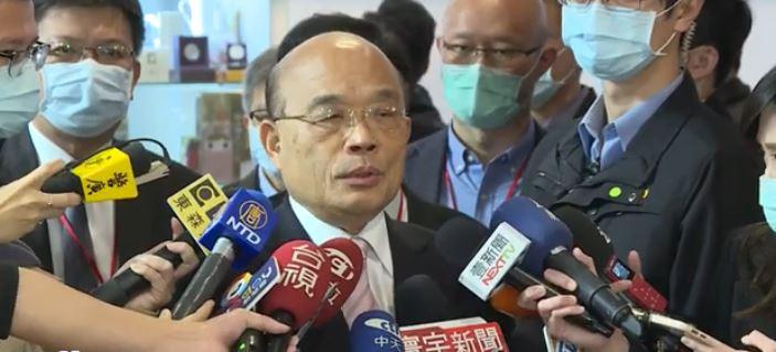 快新聞/行政院圖卡風波昨致歉 蘇貞昌今再表示未來會標明出處