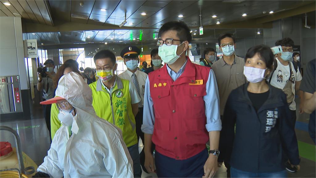 高雄「準三級」防疫警戒公務員禁赴雙北