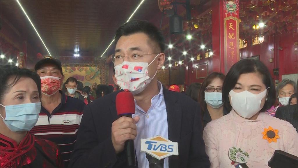 快新聞/劍指黨主席? 朱立倫po牌桌照曝「單吊東風」江啟臣:我不會打麻將