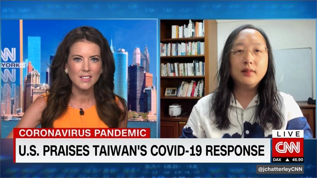 唐鳳接受CNN專訪 暢談阿札爾台灣行