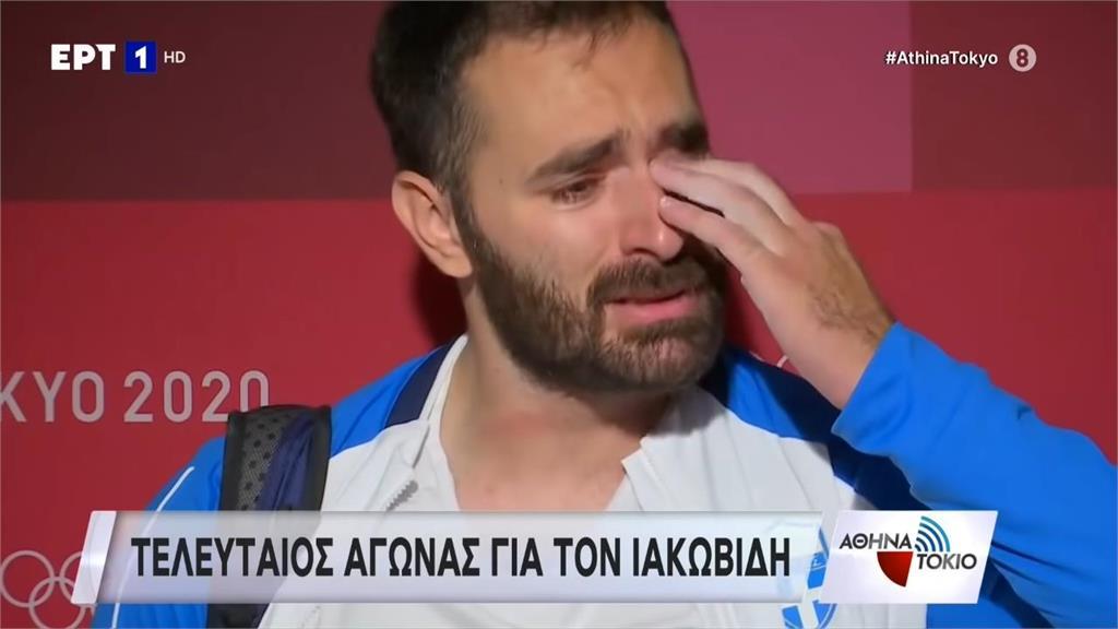 影/窮到付不出治療費!希臘舉重選手淚崩宣布退休