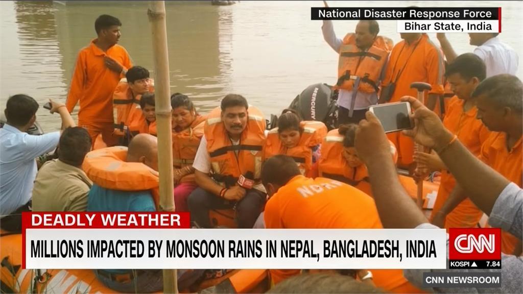熱浪大雨接連侵襲 印度雨季上百人喪命