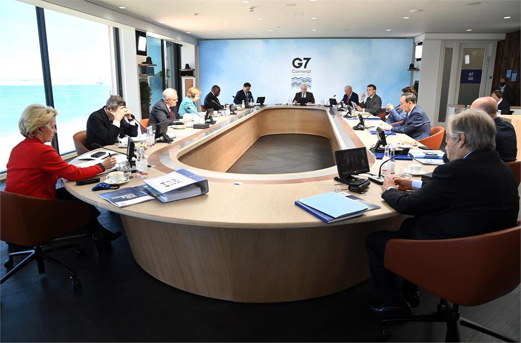 快新聞/拜登菅義偉G7場邊會 再提維持台海和平穩定