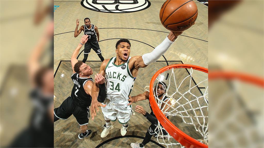 <em>NBA</em>/安特托昆博轟40分 公鹿延長賽破籃網闖東區決賽