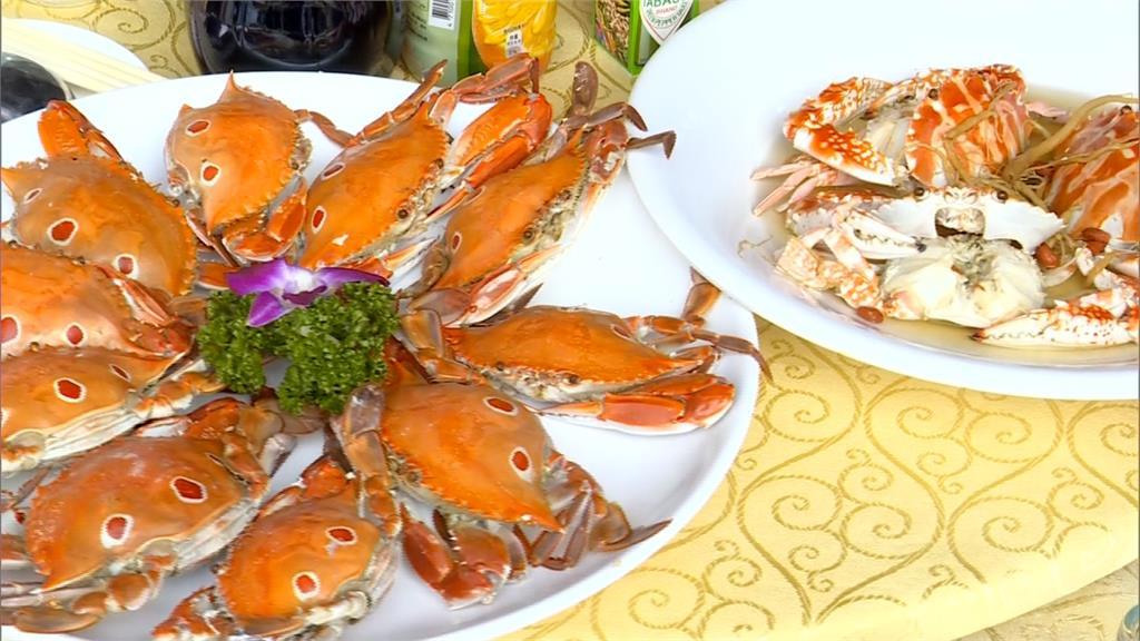 野柳海港「鱻蟹宴」 民眾瘋搶限量萬里蟹