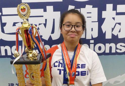快新聞/賀!競技疊杯賽台灣奪18金 15歲盧倩于是地表疊杯最快女