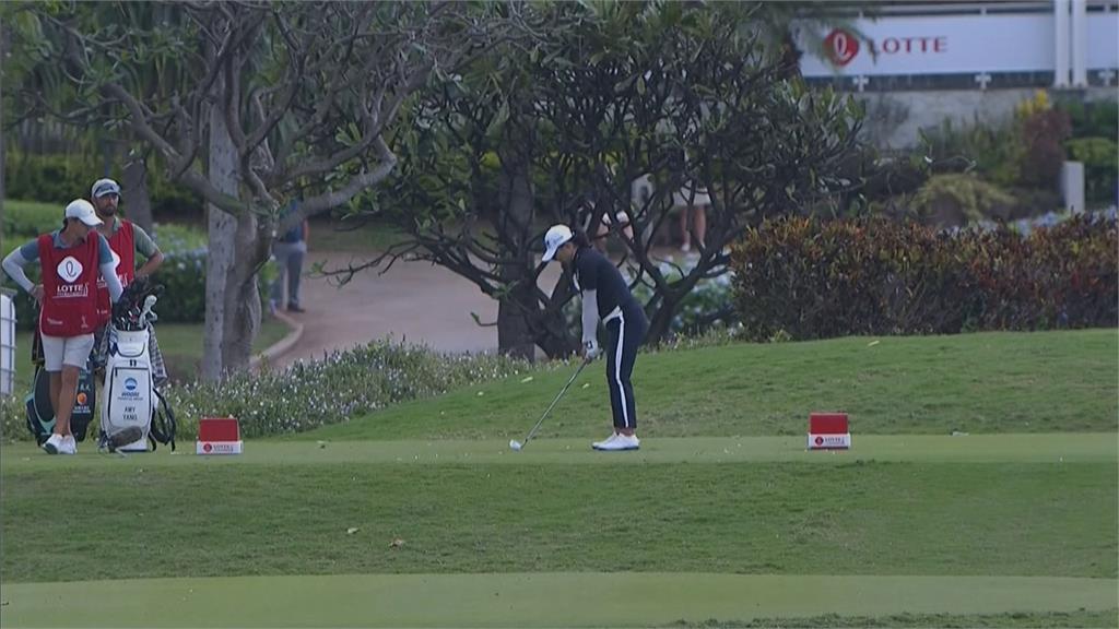 LPGA樂天錦標賽! 19歲小將優花暫居第一