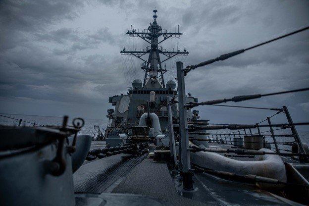 快新聞/美軍驅逐艦航行台海 中國解放軍怒嗆炒作:「蓄意破壞台海和平穩定」