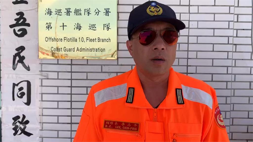 中國籍鐵殼船越界捕魚 海巡連人帶船扣留