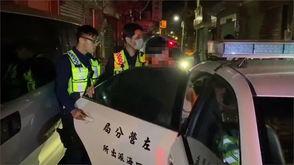 違規拒檢加速逃竄 警車圍捕逮酒駕累犯