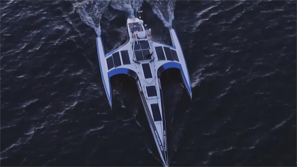 花五年打造新五月花號 橫越大西洋為環保 海人船預計航行12天至3週