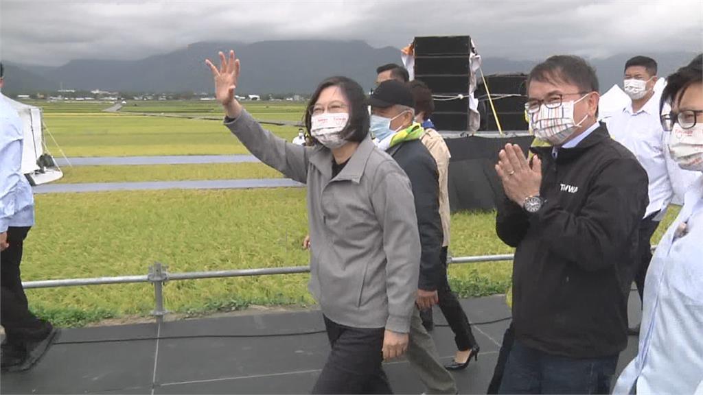 走訪海端完成台東最後一塊拼圖 蔡總統用行動力挺東台灣