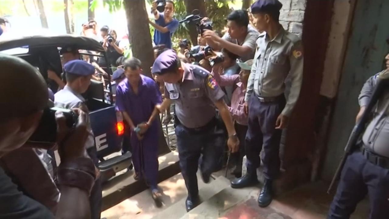 扯!控緬甸政府設局2路透記者 前警局長遭判刑1年